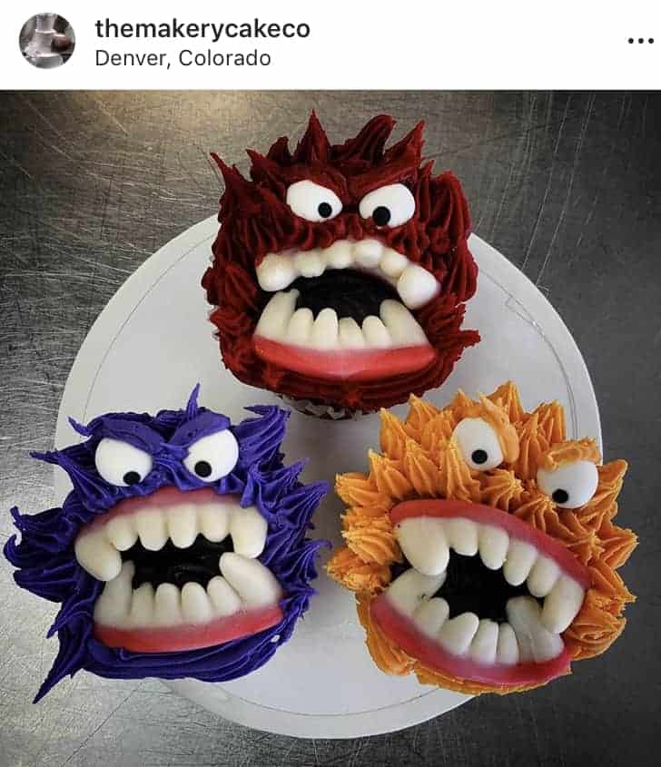 The Makery Cake Company Halloween Critter Cupcakes