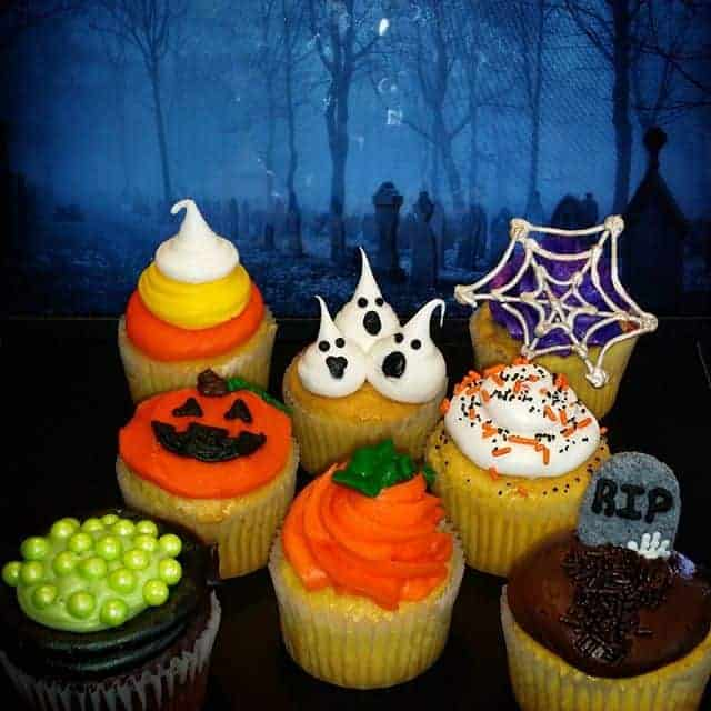 The Makery Cake Company Halloween Cupcakes