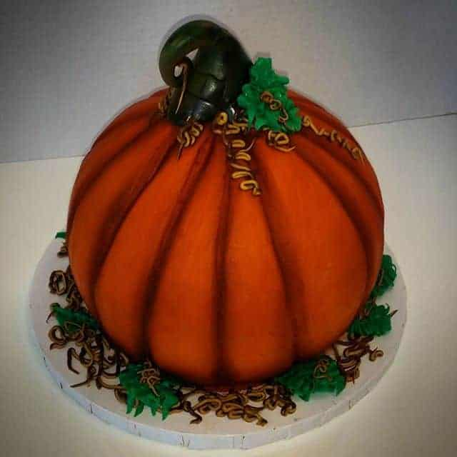 The Makery Cake Company Halloween Pumpkin Cake