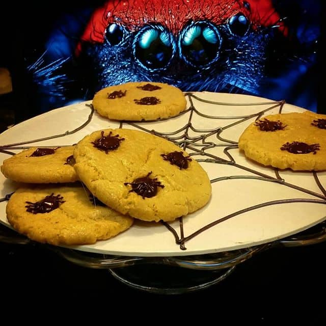 The Makery Cake Company Halloween Spider Cookies