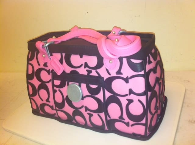 The Makery Cake Company High Fashion Purse Cake