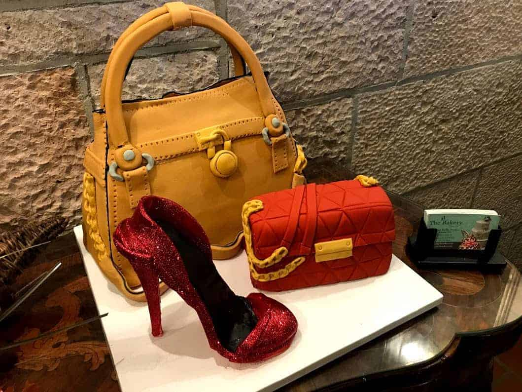 High Heel and Designer Bag Cake