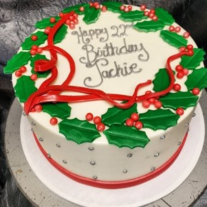 Makery Christmas Cake