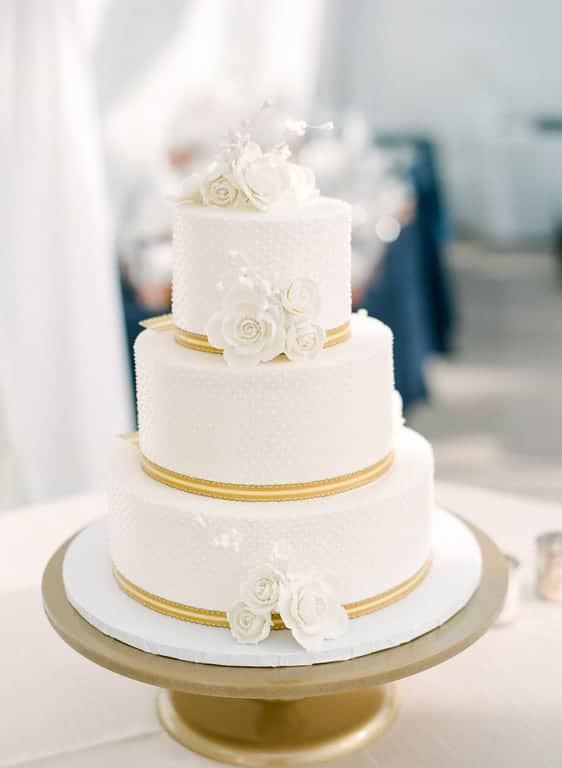Millions of Tiny Dots Tiered Cake
