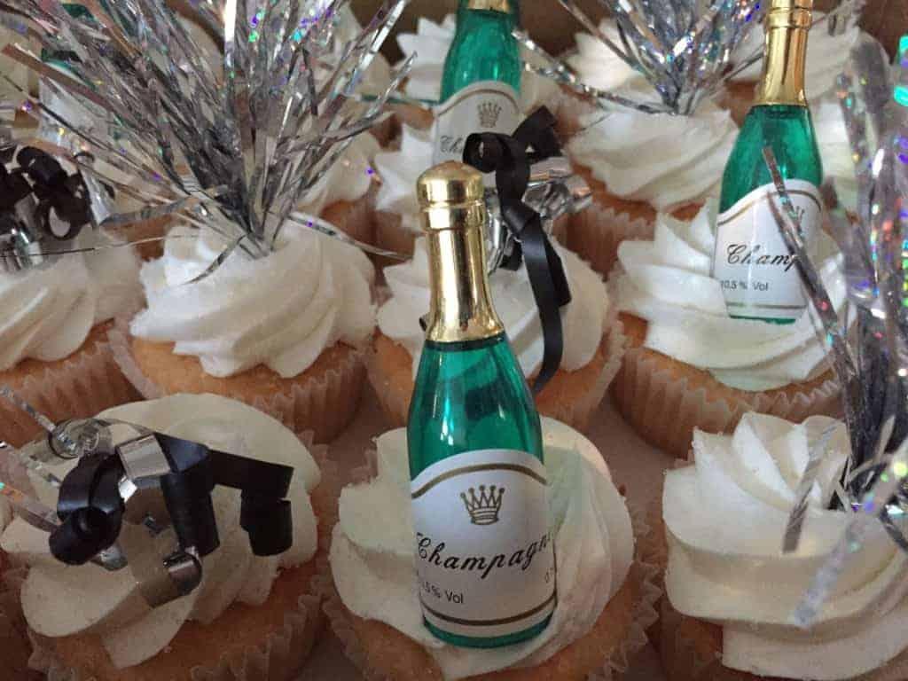 The Makery Cake Company New Year Cupcakes