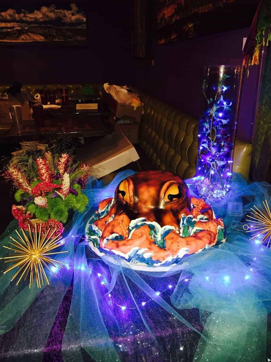 The Makery Cake Company Octopus Cake