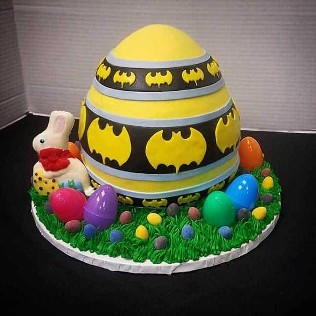 The Makery Cake Company Painted Egg Cake