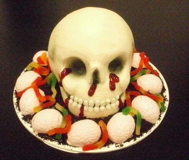 Head Skull Cake