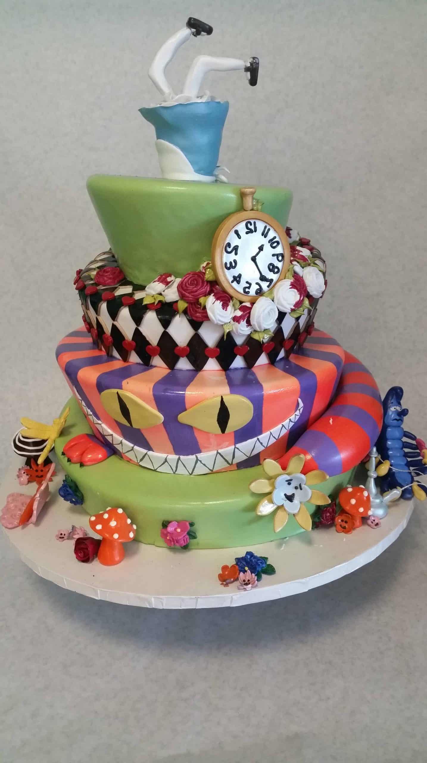 The Makery Cake Company Tea Party Birthday Cake