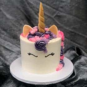 The Makery Cake Company Unicorn Cake