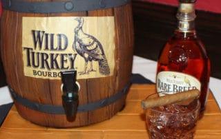 The Makery Cake Company Whiskey Barrel Cake
