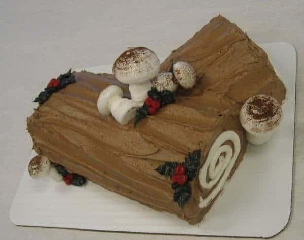 The Makery Cake Company Yule Log Cake