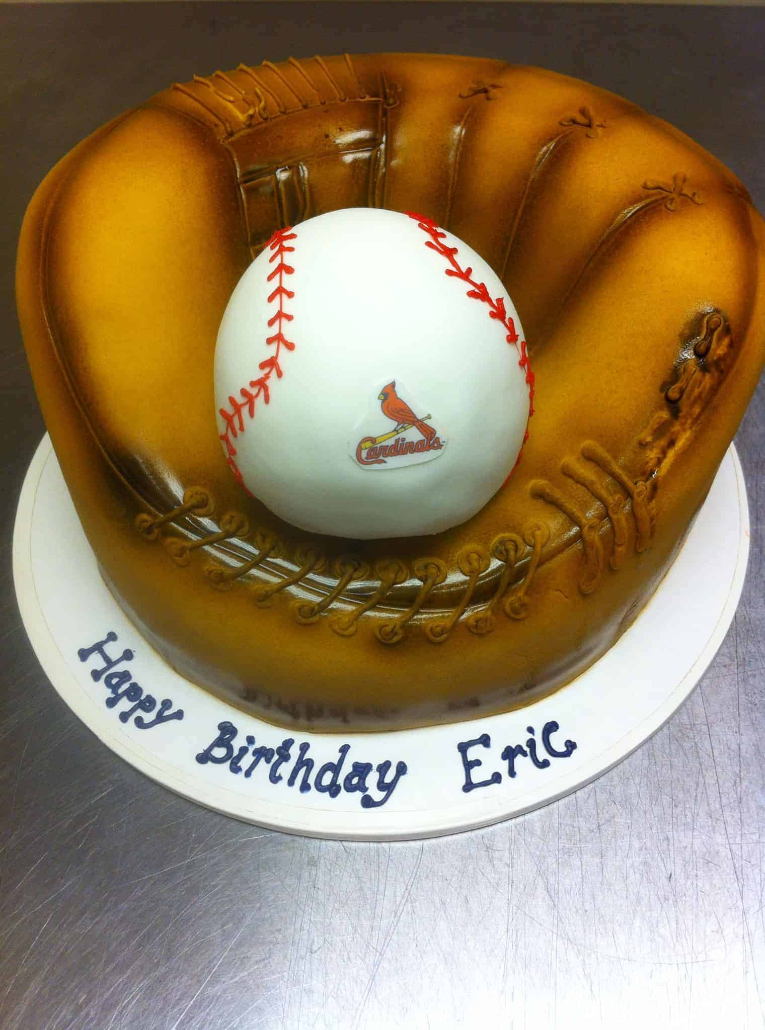 The Makery Cake Company Baseball Cake