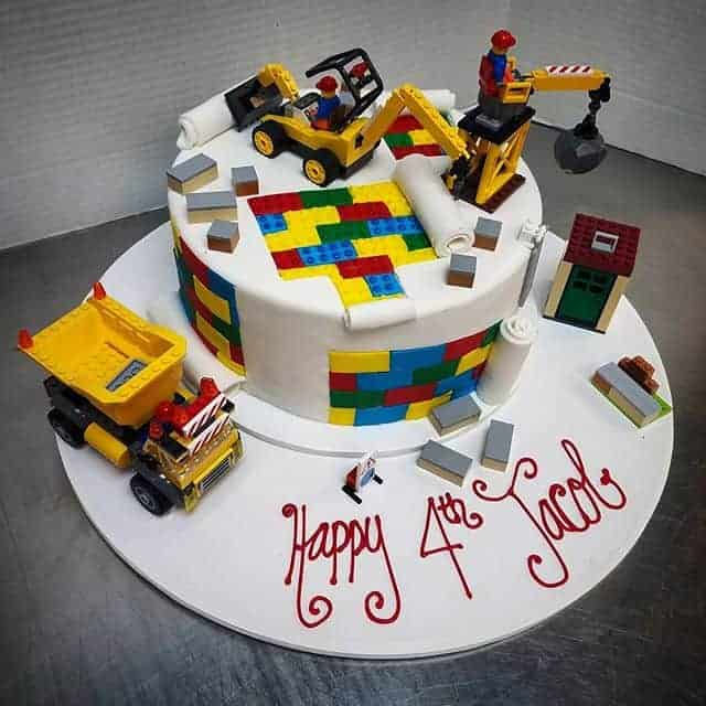 The Makery Cake Company Building Blocks Birthday Cake