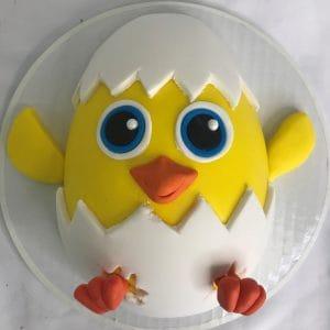 baby chic cake