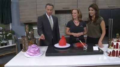 Desiree Kelly from The Makery Cake Co talks on Fox31 about he Sugar Art scene in Denver