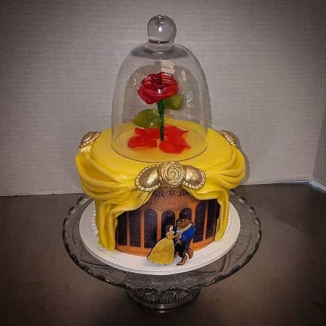 The Makery Cake Company Fairytale Inspired Engagement Cake