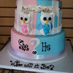 Baby Shower Bakery Cake