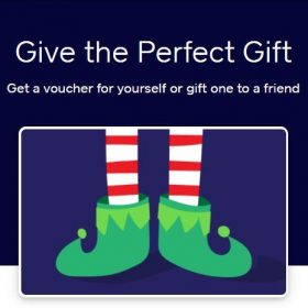 picture of a gift card