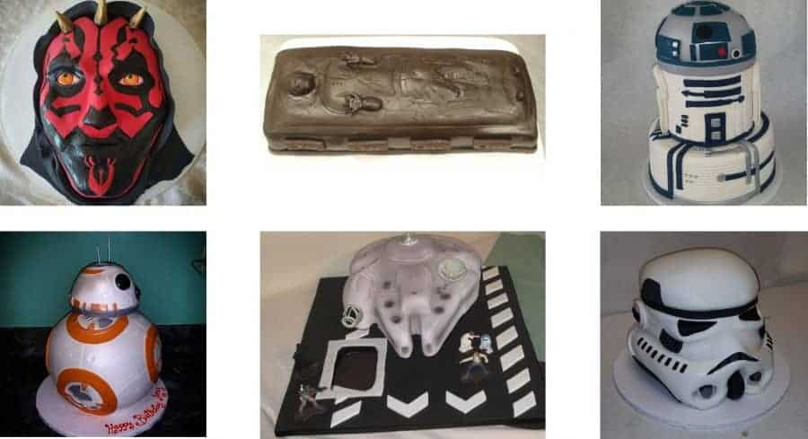 space themed groom's cakes