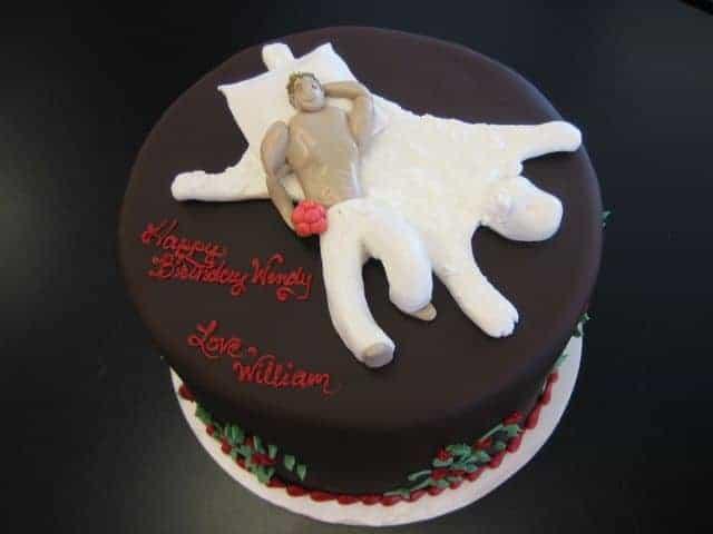 The Makery Cake Company Bachellorette Cake Party
