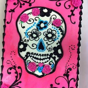 Halloween Skull Cake Co.