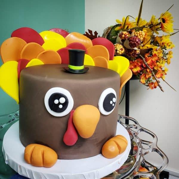 The Makery Cake Company Bird Cake