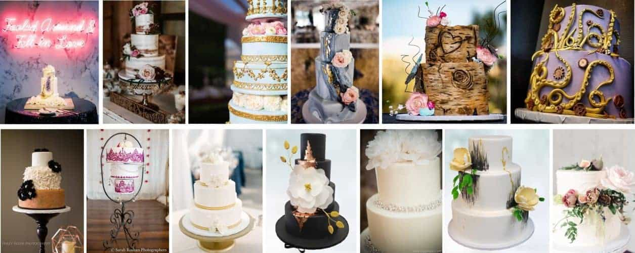 Wedding Cakes in Denver