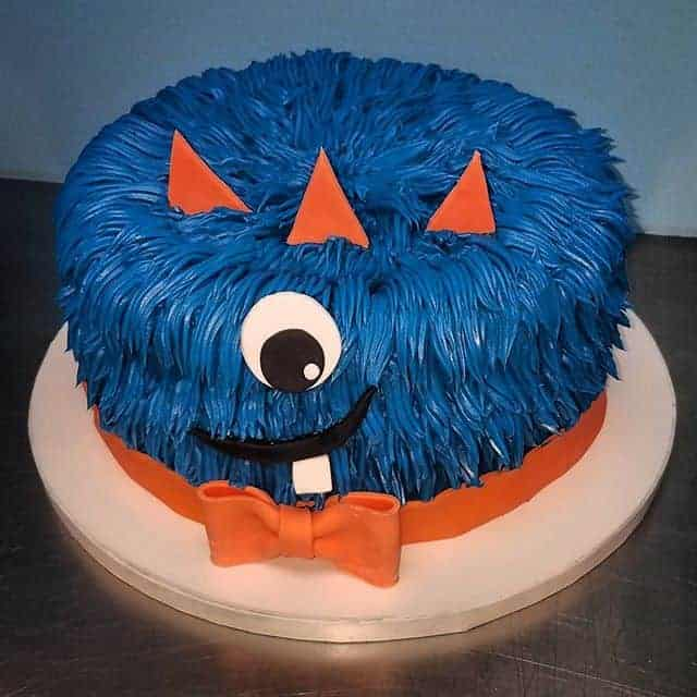 The Makery Cake Company Monster Birthday Cake
