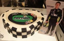 The Makery Cake Company Racing Theme Cake