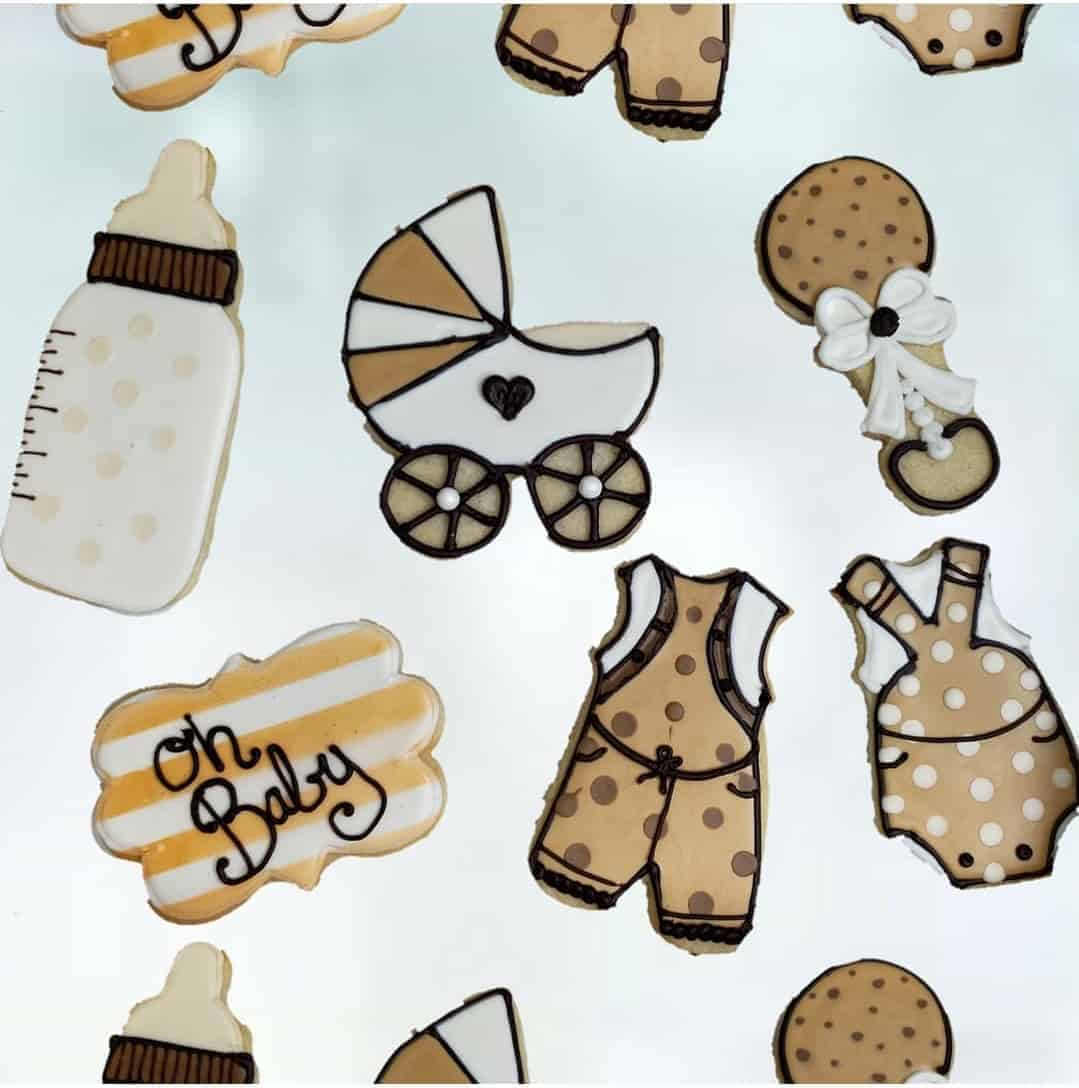 Sugar Cookies-Neutral Colored Baby Shower