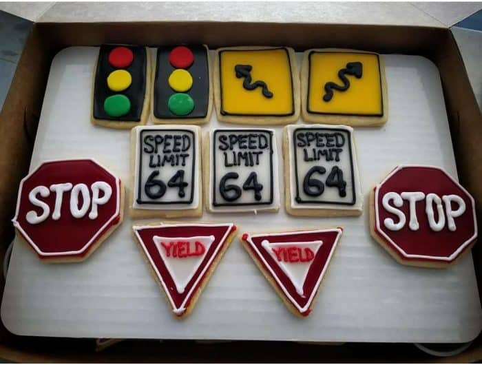 Sugar Cookies-Street Signs