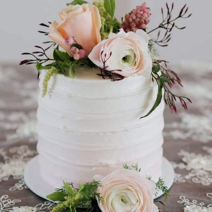 Elopement Wedding Cake