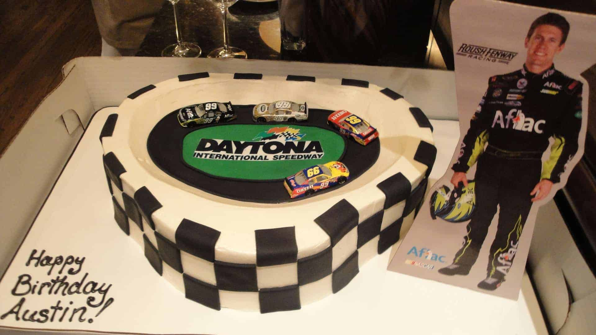 The Makery Cake Company Stock Car Racing Cake