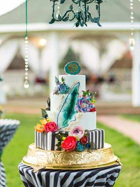 Wedding Cake Menu