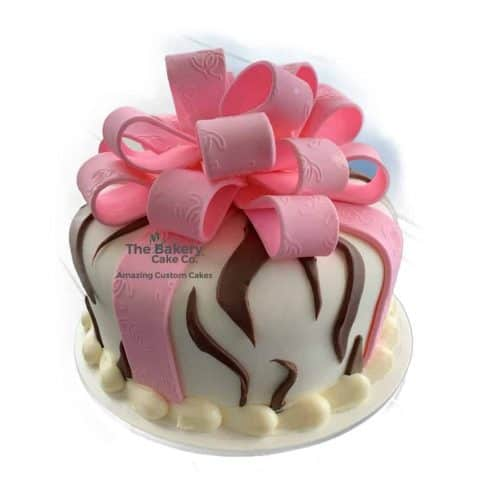 zebra Package Cake